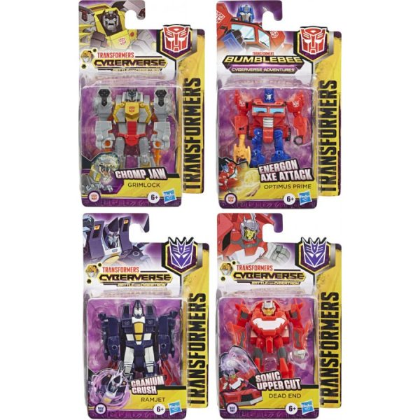 TRANSFORMERS CYBERVERSE SCOUT SINGLE ASSORTED