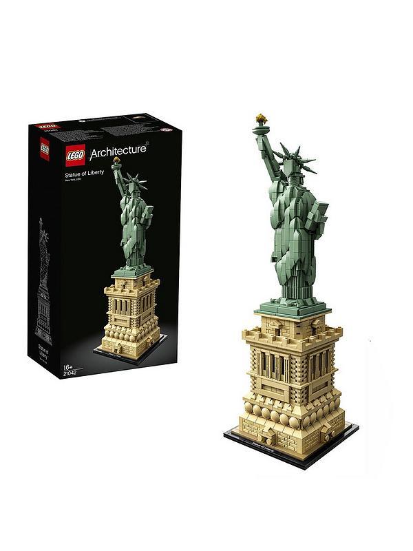 STATUE OF LIBERTY  LEGO ARCHITECTURE
